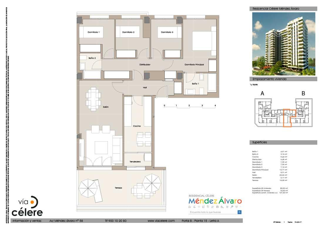 4-rooms-flat-mendez-alvaro