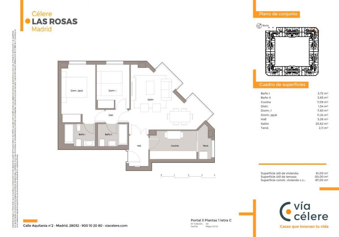obra-nueva-las-rosas-plano-2-dormitorios