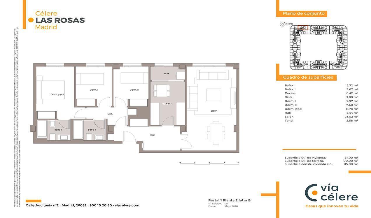 obra-nueva-las-rosas-plano-3-dormitorios