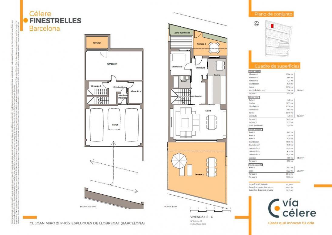 new build celere finestrelles