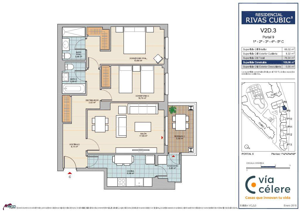 New build Rivas Vaciamadrid | Célere Cubic II