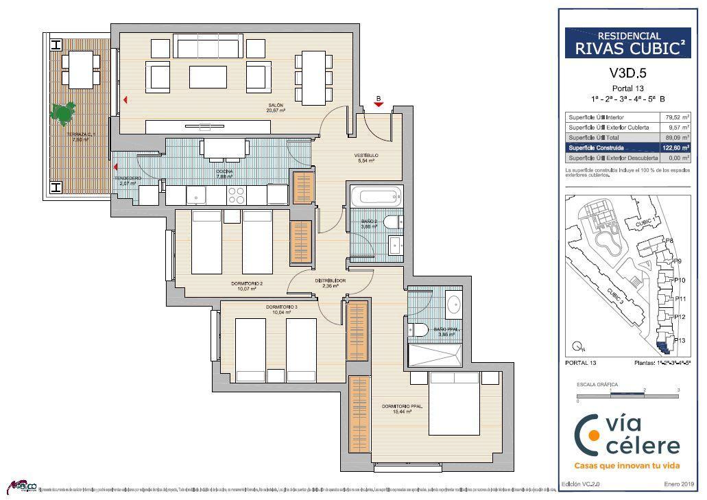 New build Rivas Vaciamadrid | Célere Cubic II