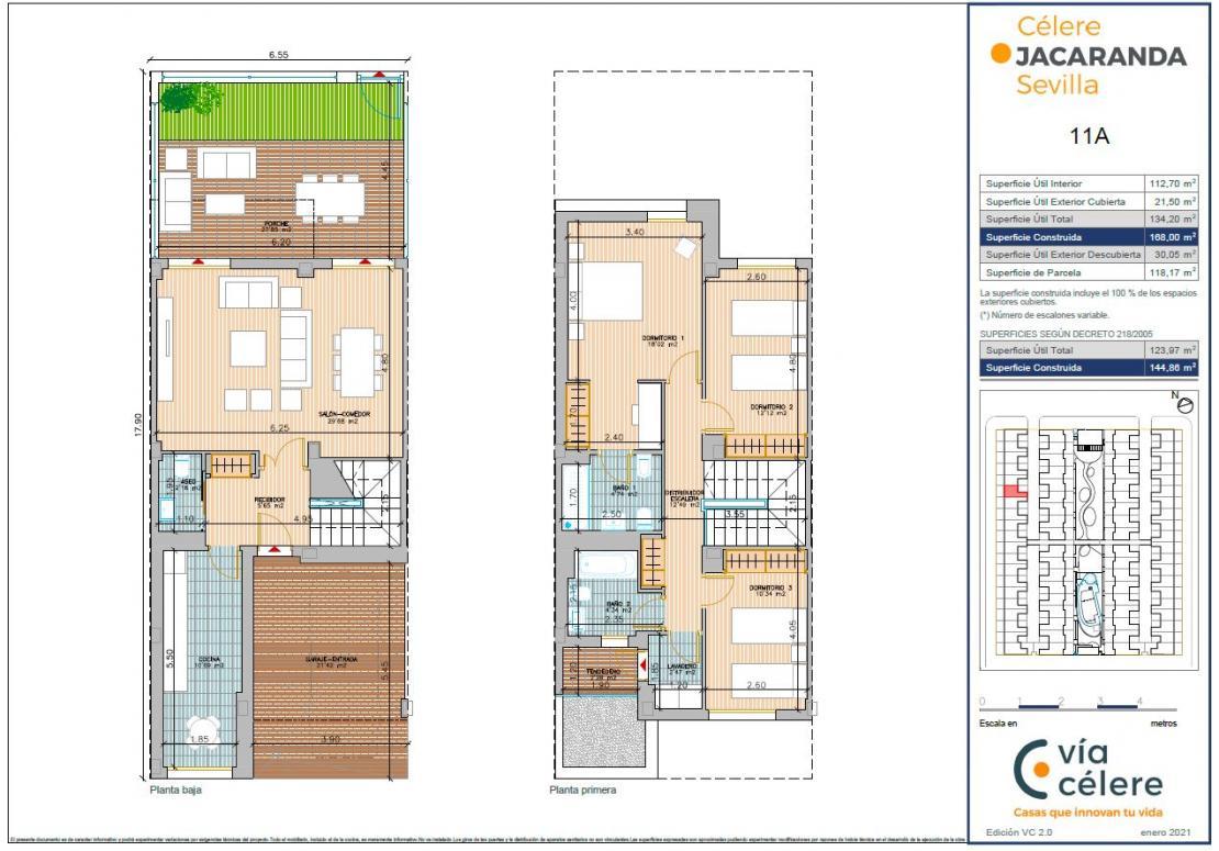 Jacaranda 3 dormitorios