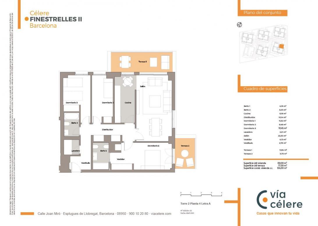 obra nueva célere Finestrelles II 3d