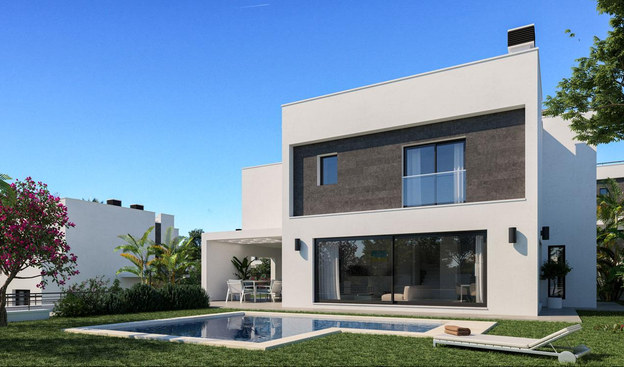 new building in Alhaurín