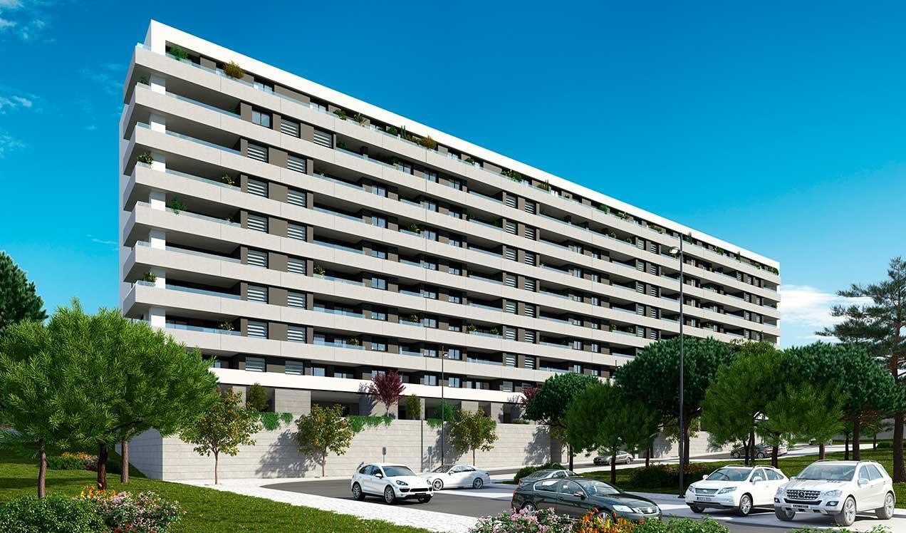 Novas construções em Lisboa | Célere Miraflores Exterior