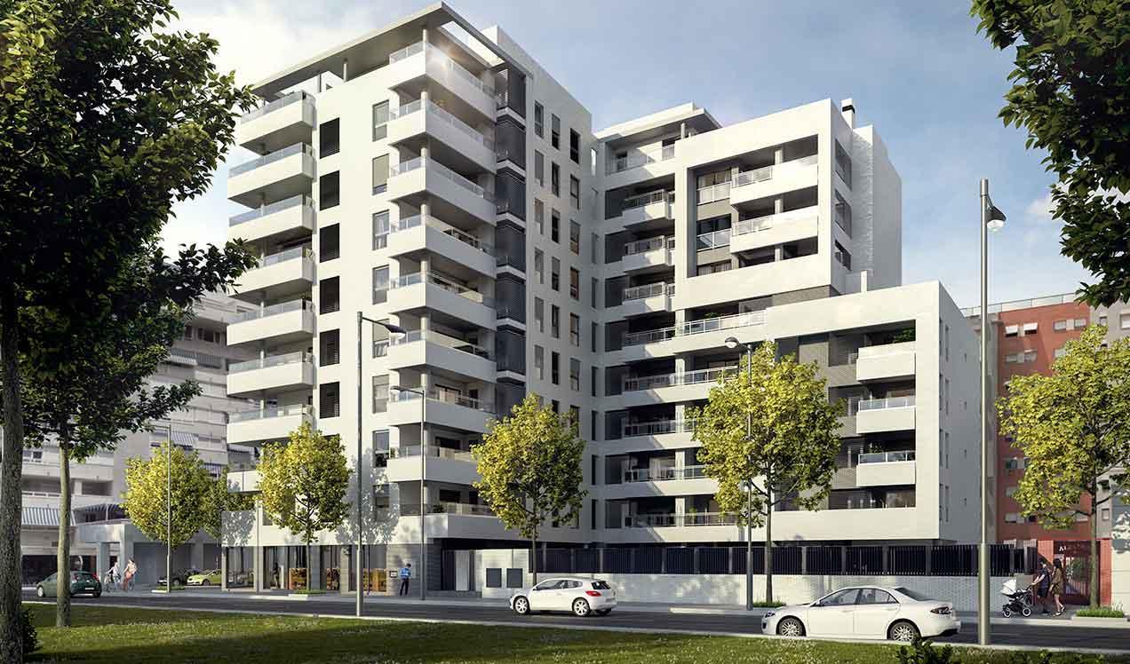 Obra nueva Alicante - Aldara | Célere Aldara fachada