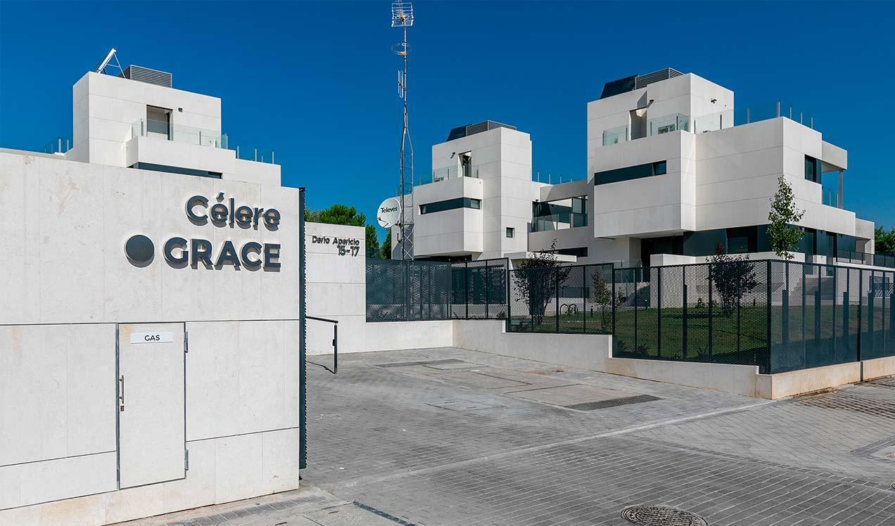Obra nueva en Aravaca - Célere Grace | Obra Nueva Madrid urbanización