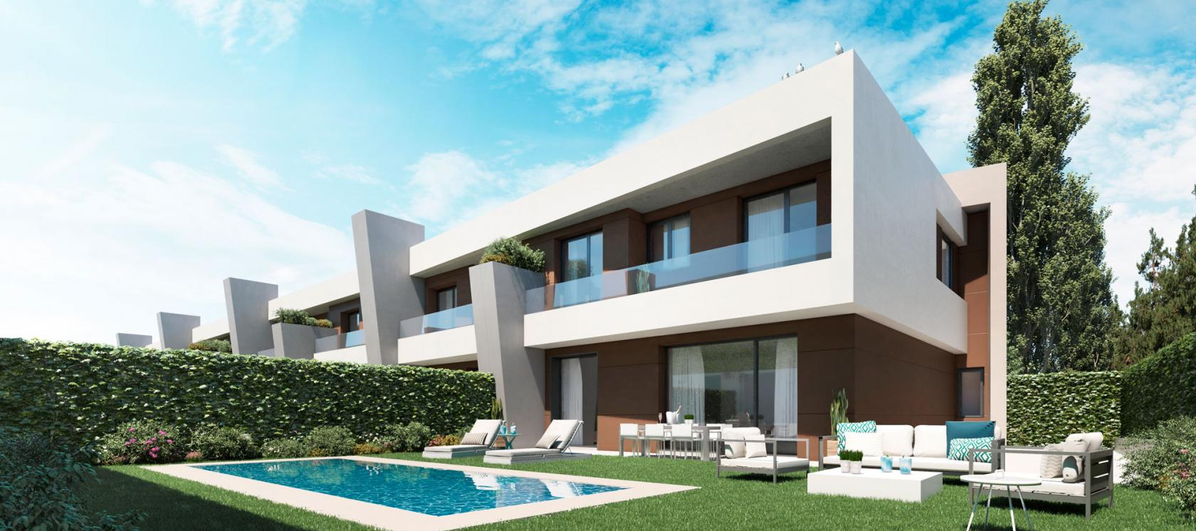 New-build flats in Madrid Célere Cortijo Norte Development