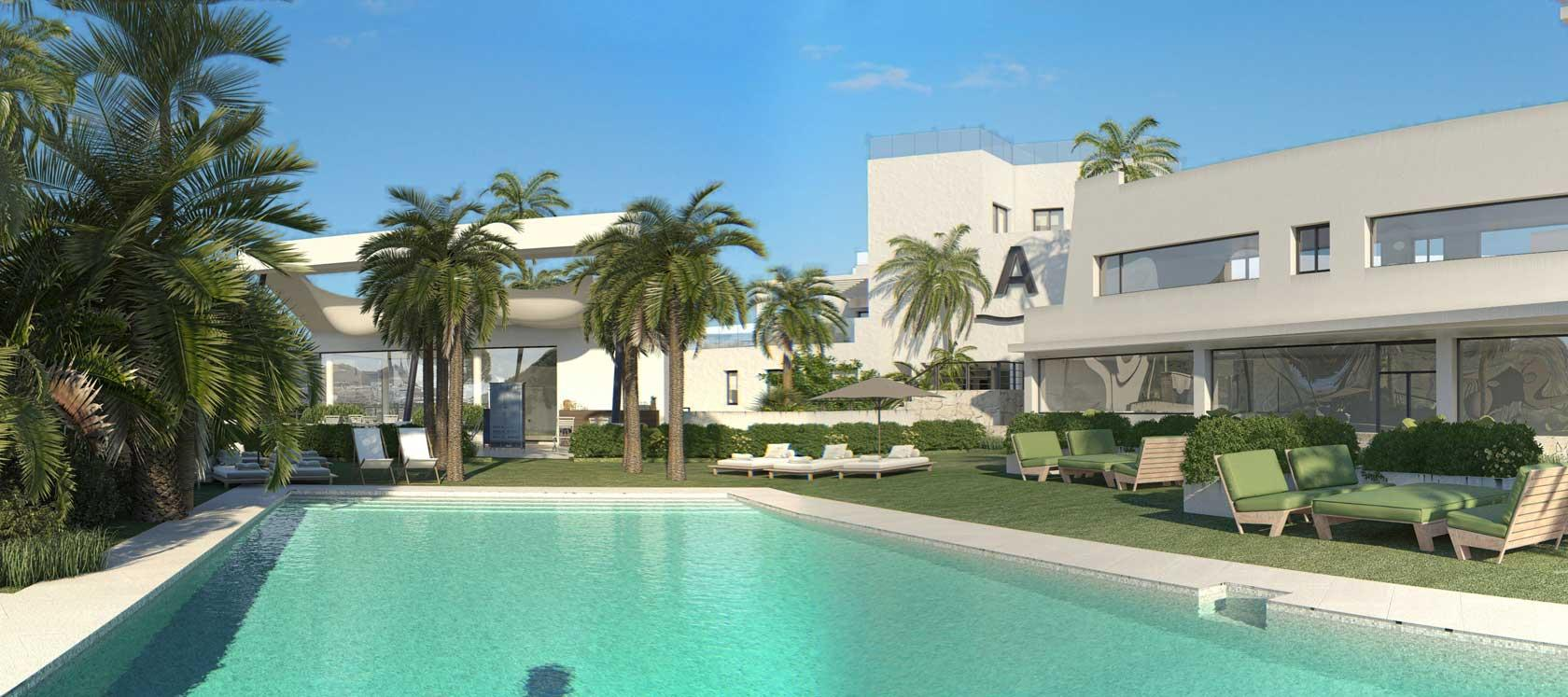 Casa Banderas Development| New build homes in Málaga