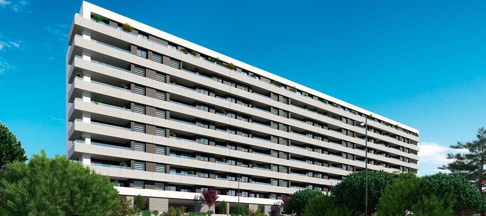 Novas construções em Lisboa | Célere Miraflores Fachada