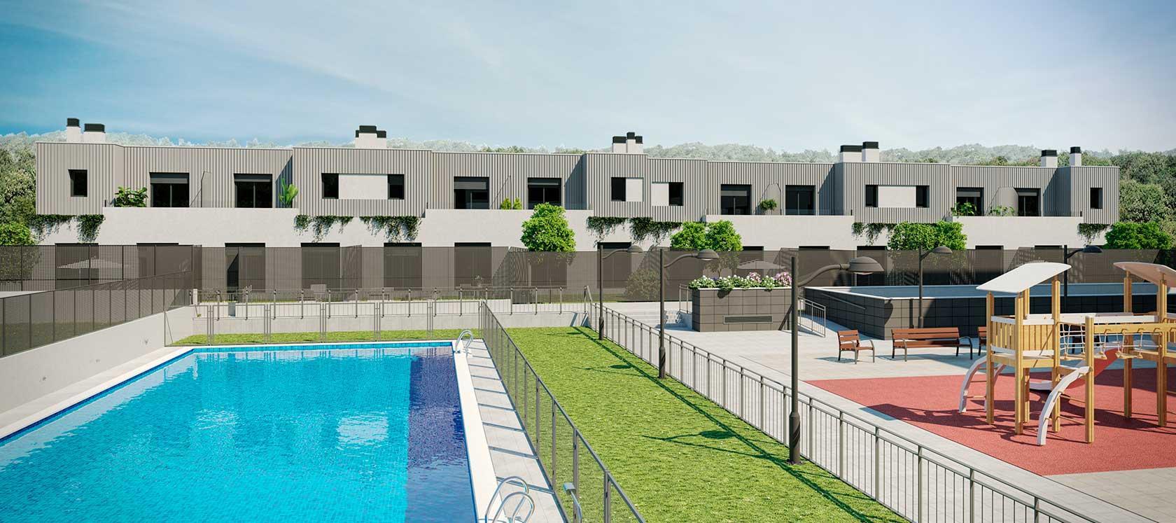 Pisos de obra nueva en Valladolid | Promoción Célere El Peral Áreas comunes