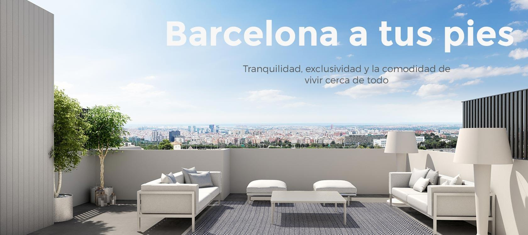 New construction in Barcelona