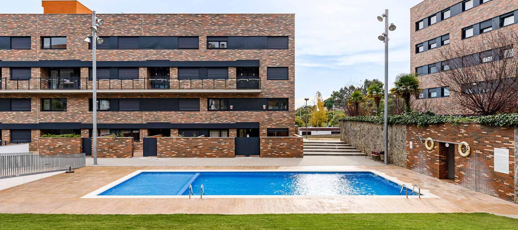 Obra en Sabadell, Barcelona. Célere Terram