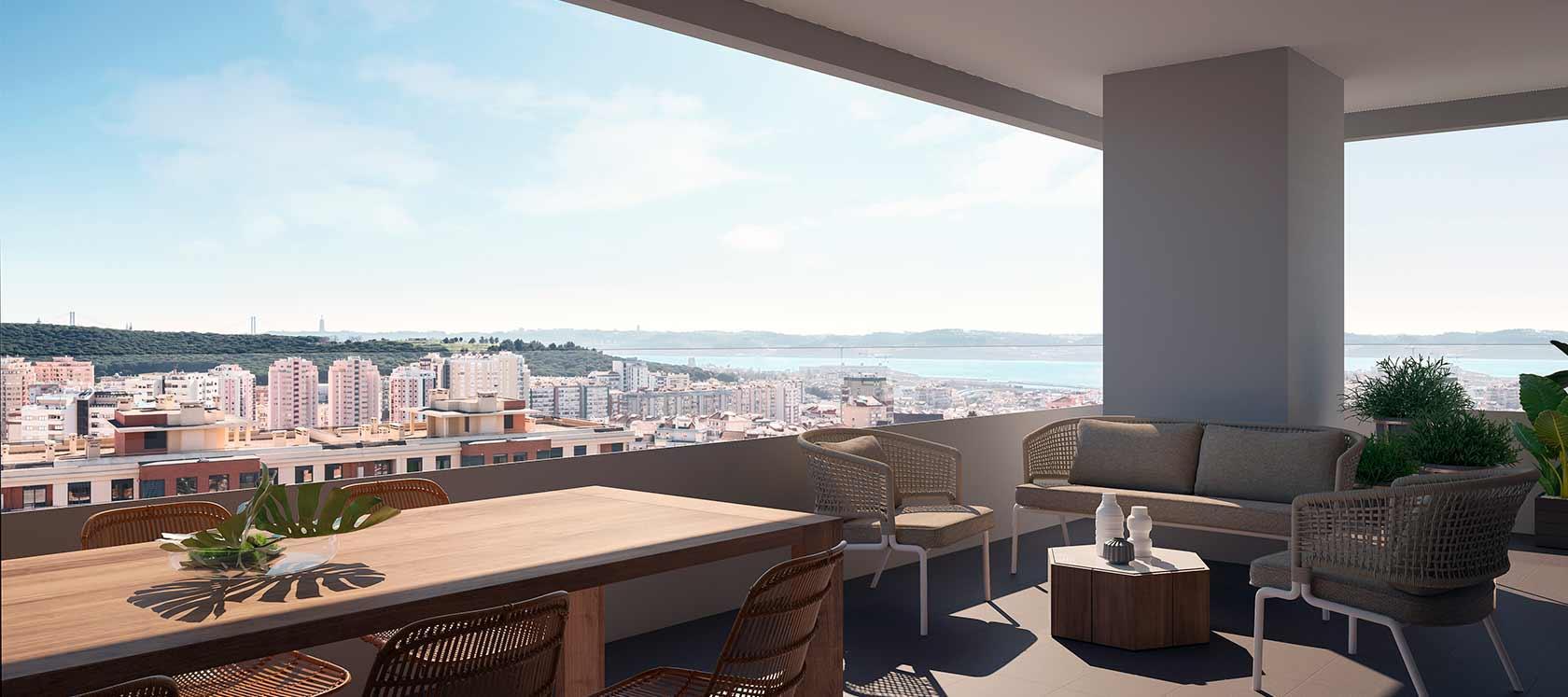 Novas construções em Lisboa | Célere Miraflores