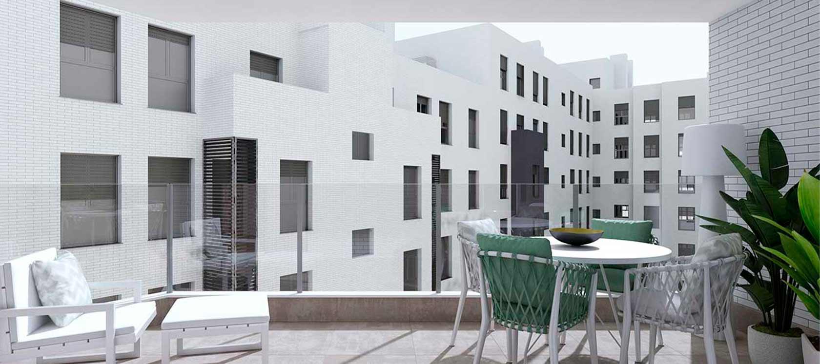 Pisos de obra nueva en Valladolid   Promoción Célere Parqueluz II